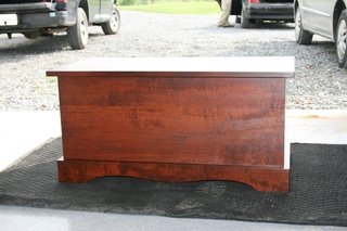 Chest in solid cherry
